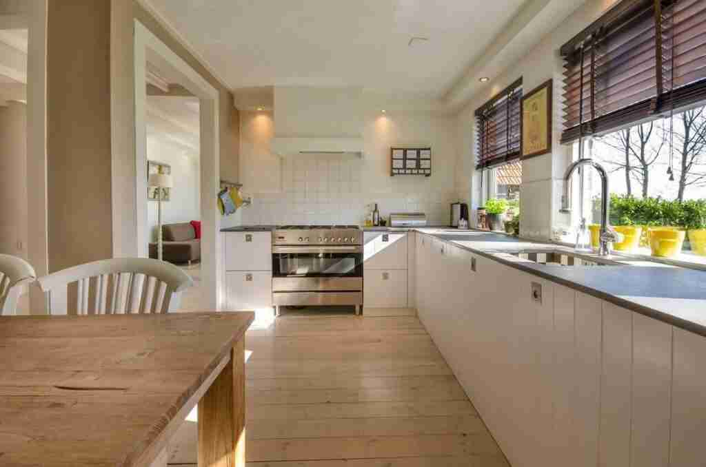 kitchen timber floor