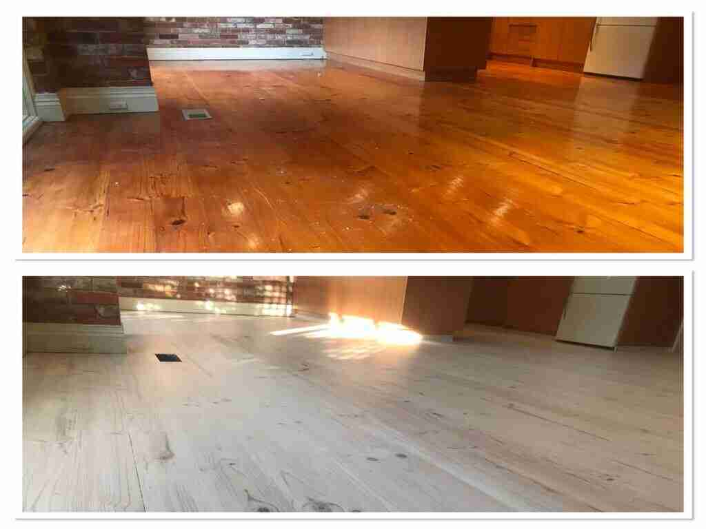 Timber Floor Damage Repair Melbourne