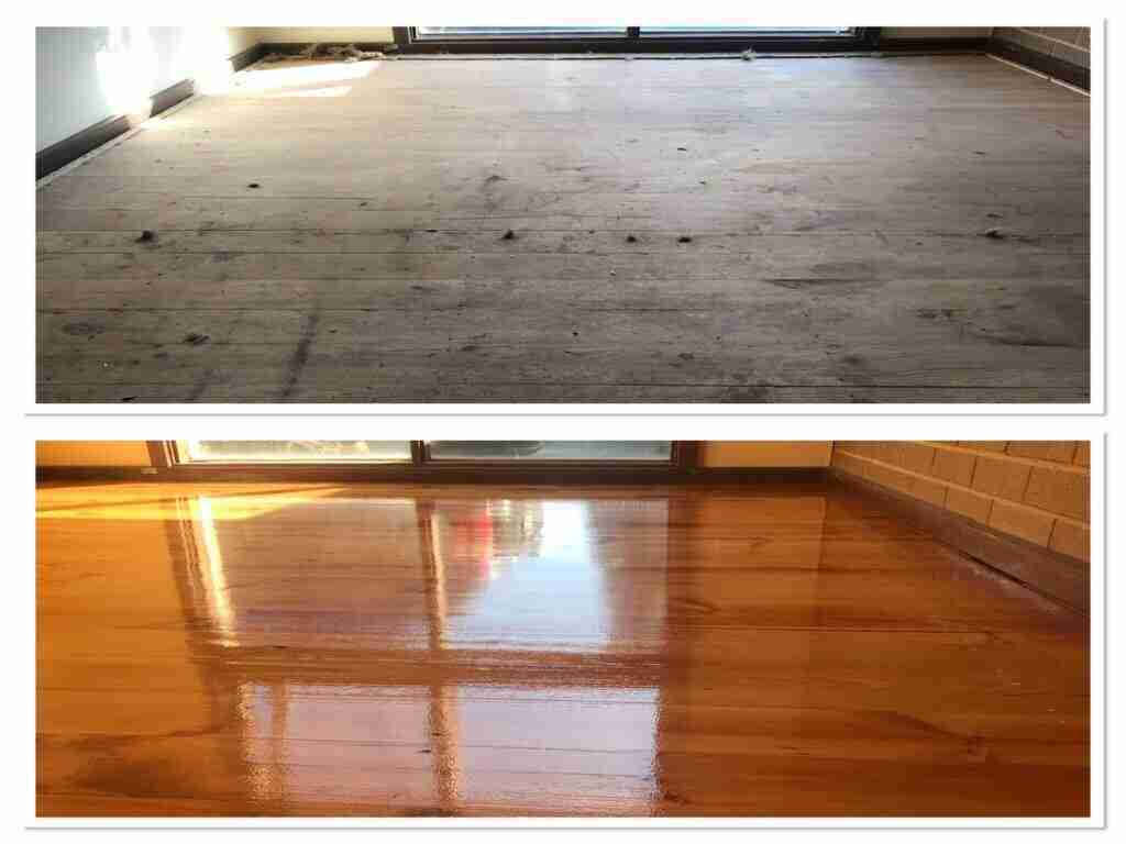 TIMBER FLOOR RESTORATION MELBOURNE